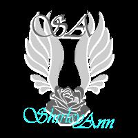 Logo Shirley Ann Transparant met tekst