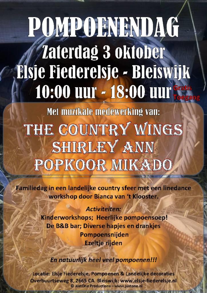 Pompoenendag bij Elsje Fiederelsje – Bleiswijk @ Elsje Fiederelsje Pompoenen & Landelijke decoraties | Bleiswijk | Zuid-Holland | Nederland