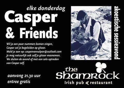 Casper & Friends @ The Shamrock | Almelo | Overijssel | Nederland